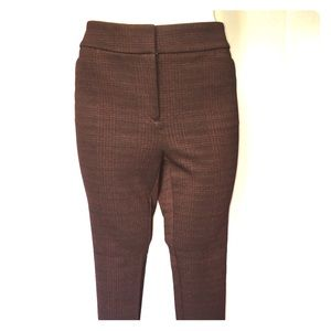 Plaid Stretch Pants